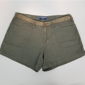 Bluenotes Size 3 Army Green Cotton Shorts
